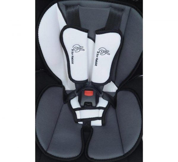 R for Rabbit Jumping Jack Grand Baby Car Seat_White 1
