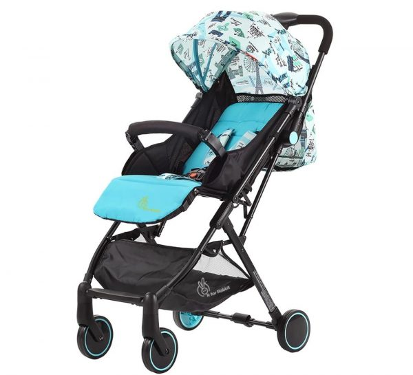 R for Rabbit Pocket Stroller Lite Stroller & Pram_Blue cover