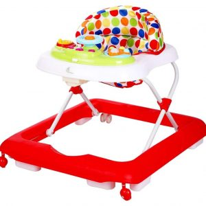 R for Rabbit Step Up Anti Fall Baby Walker_Red cover