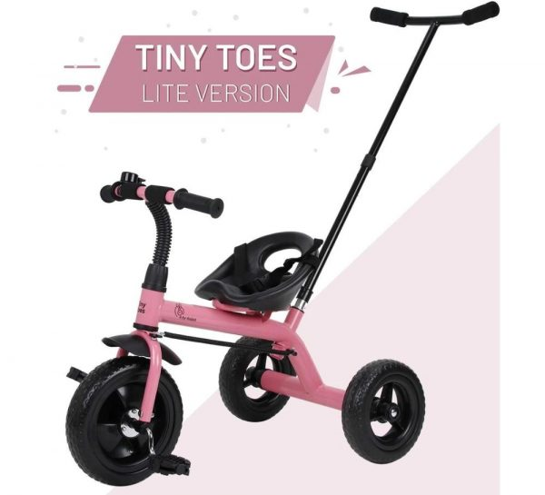 R for Rabbit Tiny Toes Lite Baby Tricycle_Pink 1