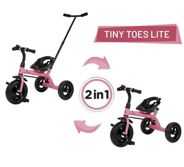R for Rabbit Tiny Toes Lite Baby Tricycle_Pink 3