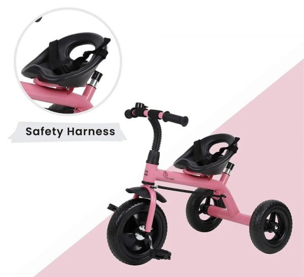 R for Rabbit Tiny Toes Lite Baby Tricycle_Pink 4