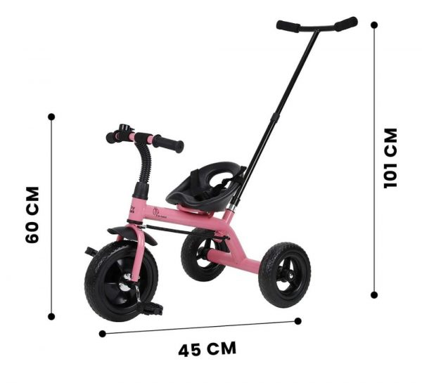 R for Rabbit Tiny Toes Lite Baby Tricycle_Pink 6