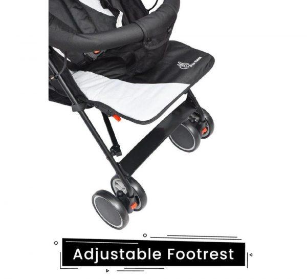R for Rabbit Twinkle Twinkle Stroller & Pram_GreyBlack 5