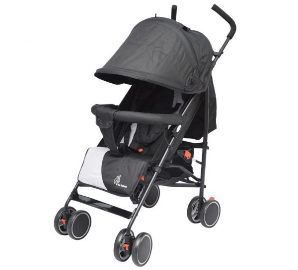 R for Rabbit Twinkle Twinkle Stroller & Pram_GreyBlack cover