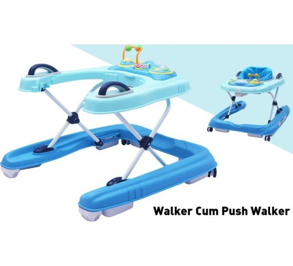 R for Rabbit Zig Zag Grand Anti Fall 3 in 1 Baby Walker_Blue 4