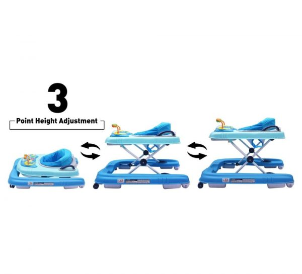 R for Rabbit Zig Zag Grand Anti Fall 3 in 1 Baby Walker_Blue 6
