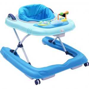 R for Rabbit Zig Zag Grand Anti Fall 3 in 1 Baby Walker_Blue cover