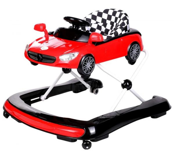 R for Rabbit Zoom Car Baby Walker_Red Cover