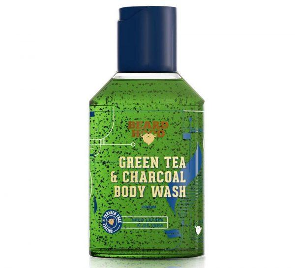 Beardhood Green Tea & Charcoal Body Wash_cover