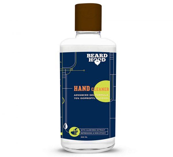 Beardhood Hand Cleaner Sanitizer_500ml
