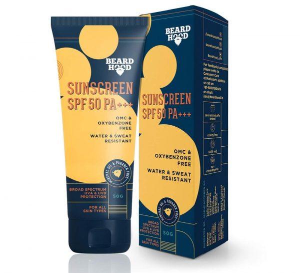 Beardhood SPF 50 PA+++ SunScreen_1