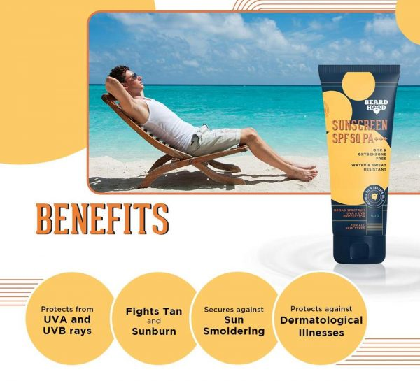 Beardhood SPF 50 PA+++ SunScreen_3