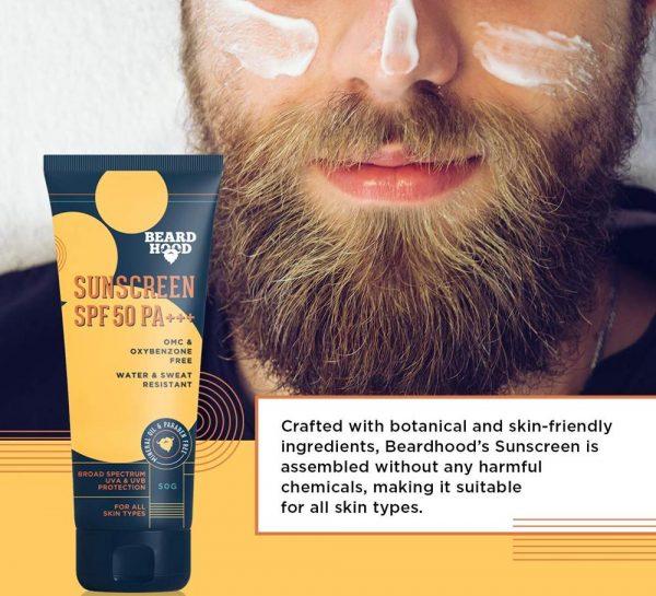 Beardhood SPF 50 PA+++ SunScreen_4