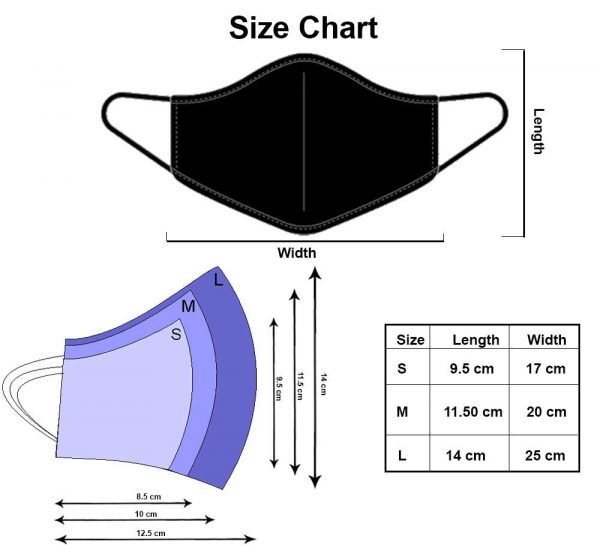 Cotton Mask_SizeChart