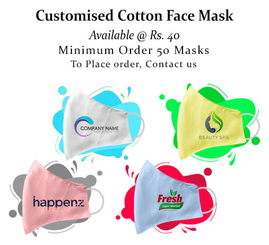 cotton face mask_customized