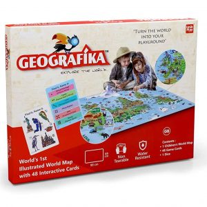 Geografika Explore The World Map_cover