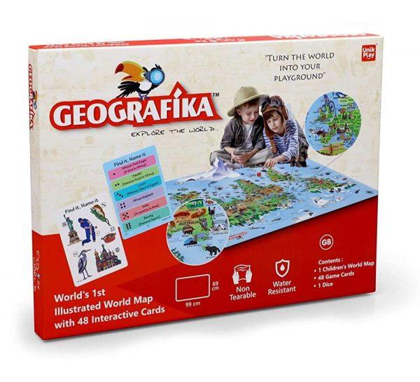 Geografika Explore The World Map_cover