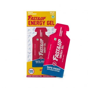 Fast&Up Energy Gel_Strawberry Banana