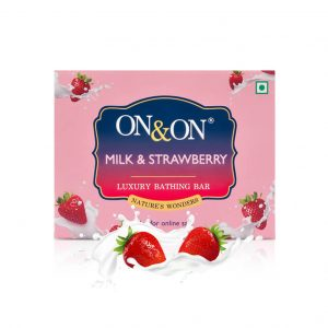 On & On Luxury Soap Bar_Milk&Strawberry