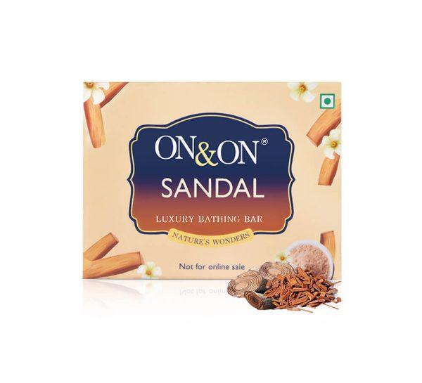 On & On Luxury Soap Bar_Sandalwood