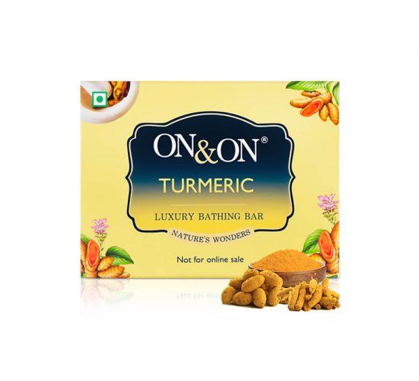 On & On Luxury Soap Bar_Turmeric