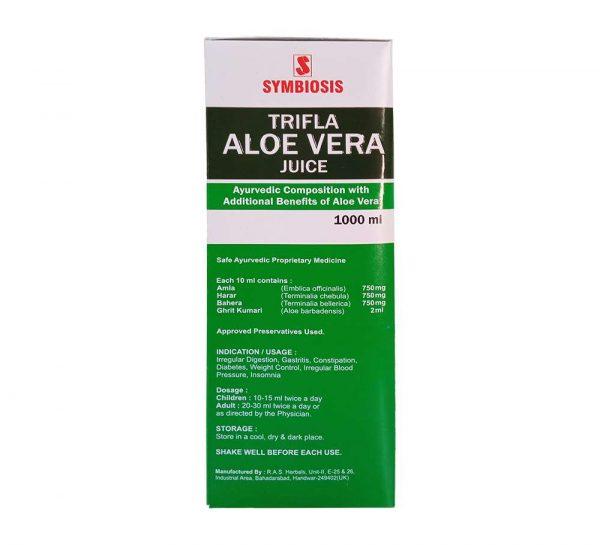 Trifla Aleovera Juice_back