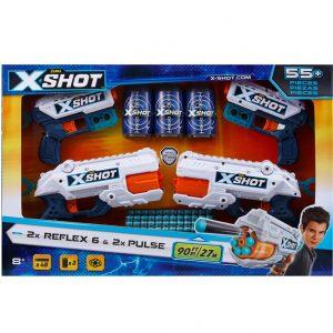 X-Shot 2 Reflex6 & 2 Kickback_cover