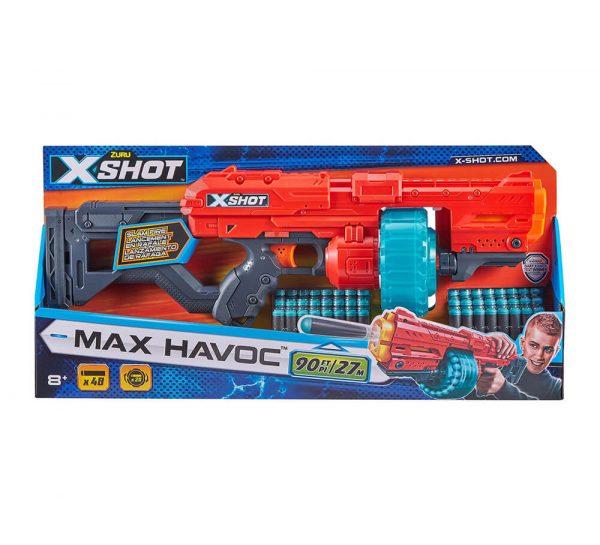 X-Shot Havoc_cover1