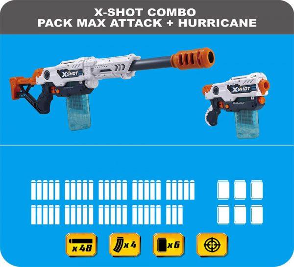 X-Shot Max Attack & Hurricane_cover5
