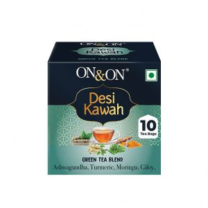 On & On Desi Kawah Green Tea_cover