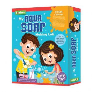 Explore My Aqua Soap Making Lab_cover