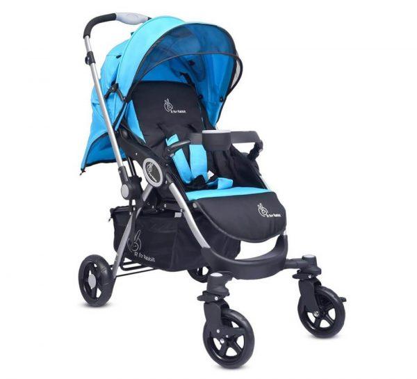 R for Rabbit Chocolate Ride Baby Stroller & Pram_Blueblack