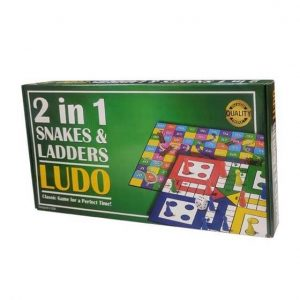 2 in 1 Ludo and Snakes & Ladder_cover