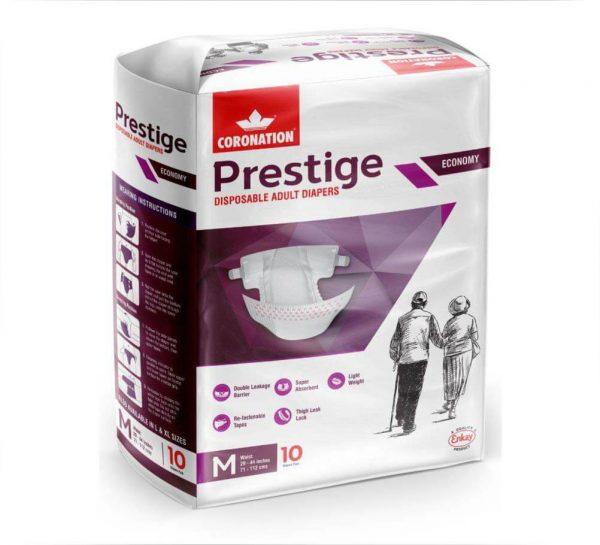 Coronation Prestige Disposable Adult Diapers_Medium
