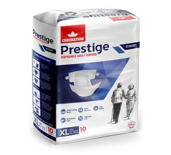 Coronation Prestige Disposable Adult Diapers_X-Large