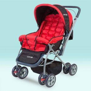 LuvLap Starshine Baby Stroller Red_cover