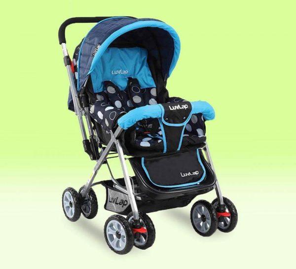 LuvLap Sunshine Baby Stroller SkyBlue