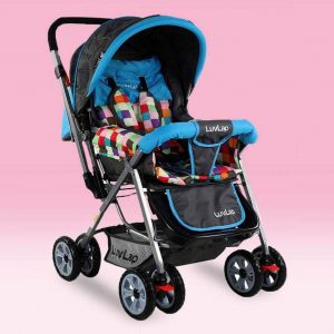 LuvLap Sunshine Baby Stroller Teal_cover
