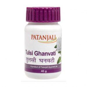 Patanjali Tulsi Ghanvati_cover