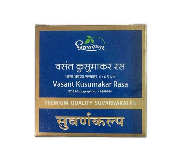 Dhootpapeshwar Vasant Kusumakar Rasa_cover