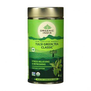 Organic India Tulsi Green Tea Classic_cover