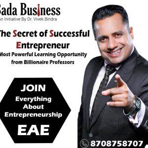 Everything About Entrepreneurship-EAE-Bada Business