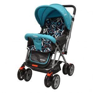 Little Pumpkin Kiddie Kingdom Baby Stroller & Prams_Blue