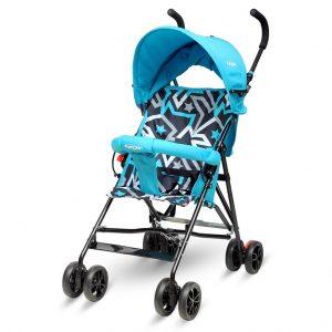 Little Pumpkin Kiddie Kingdom Baby Stroller_Blue