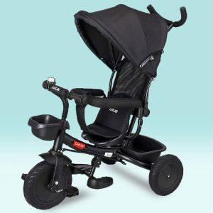 LuvLap Galaxy Baby Tricycle_Black