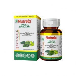 Patanjali Nutrela Natural Spirulina Tablet_cover